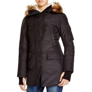Aqua Womens Parka Down Hooded