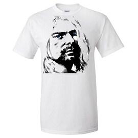 Kurt Cobain T-Shirt Nirvana Unisex Blue Eyes Tee