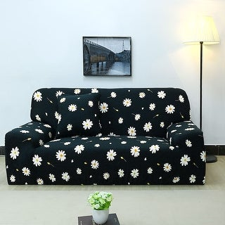 Unique Bargains Polyester Stretch Slipcover (92 x 118 Inch) - #7