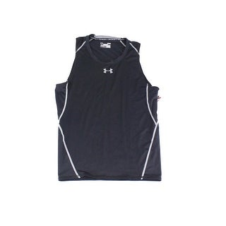 Under Armour NEW Black Mens Size Large L Shirts & Tops Athletic Apparel