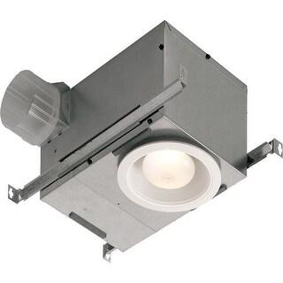 NuTone 744NT 70 CFM 1.5 Sone Ceiling Mounted HVI Certified Bath Fan with Light