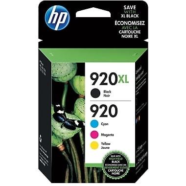 HP 920 Standard CMY/920XL High Yield Black Multi-pack 4 -pack N9H61FN - Multi-color. Opens flyout.