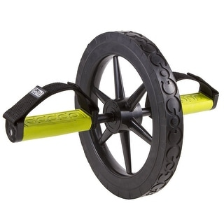 GoFit Extreme Ab Wheel with Training Manual
