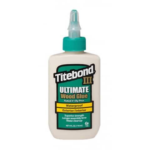 Titebond III 1412 Ultimate Wood Glue, 4 Oz