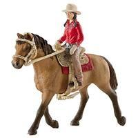 Schleich 42112 Western Rider Figurine, Brown