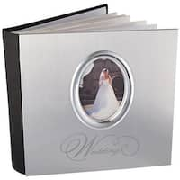 MBI 850014 Wedding Photo Album, Silver - 200 Pockets