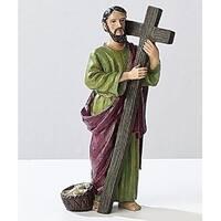 """3.5"""" Saint Andrew Religious Figure"""