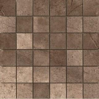 "Emser Tile F78STMO-1212MO St. Moritz Ii - 2"" x 2"" Square Mosaic Multi-Surface Ti"