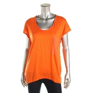 Zara Special-T Womens Knit U-Neck T-Shirt - M