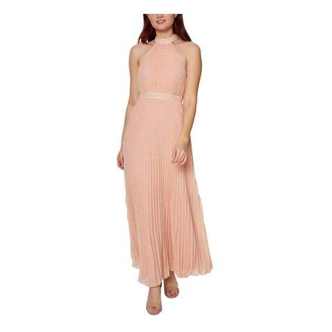 BETSEY JOHNSON Pink Sleeveless Full-Length Dress 2
