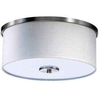 Quorum International 658-14 Cirrus 2 Light Flushmount Ceiling Fixture
