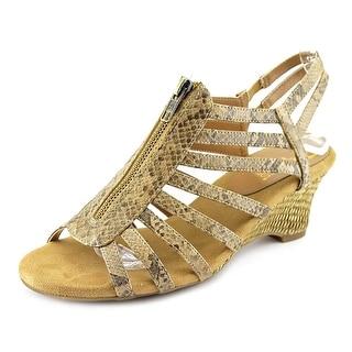 Aerosoles Half Dozen Women W Open Toe Synthetic Wedge Sandal