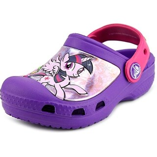 Crocs Creative Crocs My Little Pony Clog Toddler Synthetic Purple Clogs