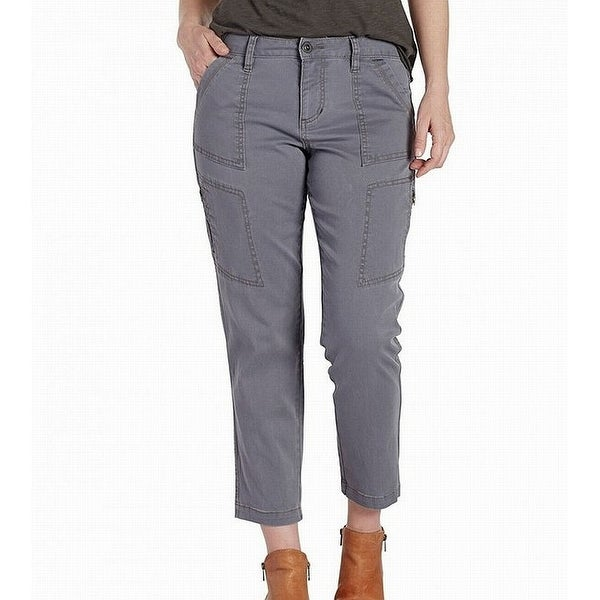 Jag Jeans Womens Gable Utility Girlfriend Cropped Pants