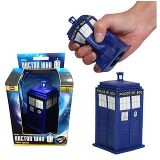 Doctor Who Tardis Squeeze Stress Toy - multi