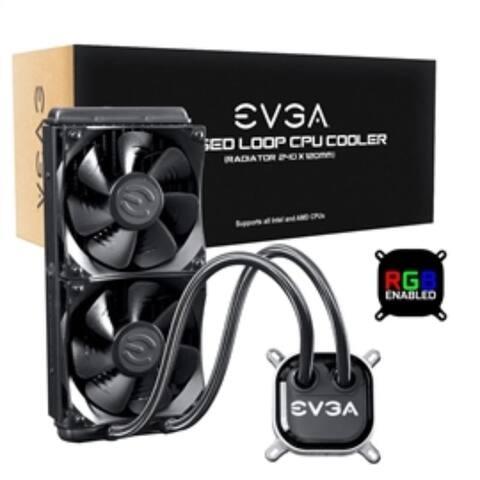 EVGA Fan 400-HY-CL24-V1 CLC 240 Liquid CPU Cooler Retail