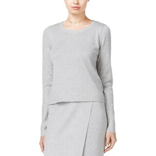 Guess Womens Malaika Pullover Sweater Solid Knit
