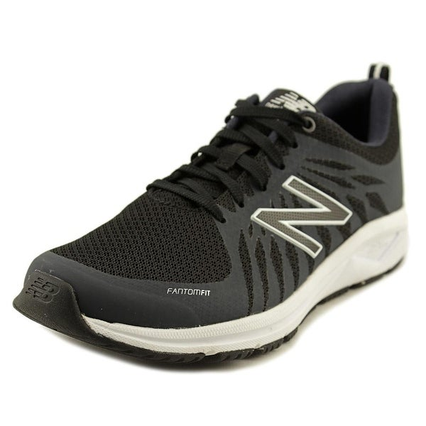 New Balance WW1065 Women 2A Round Toe Canvas Black Walking Shoe