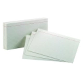 Oxford 5 x 8 in. Ruled Index Card - White, Pack 100