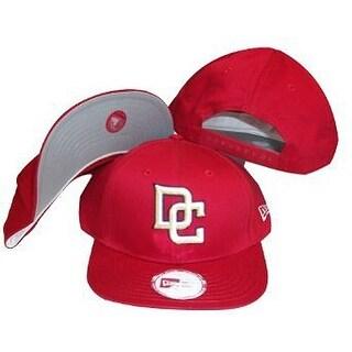 MLB Washington Nationals New Era Red Low Profile Adjustable Snap Back Hat / Cap