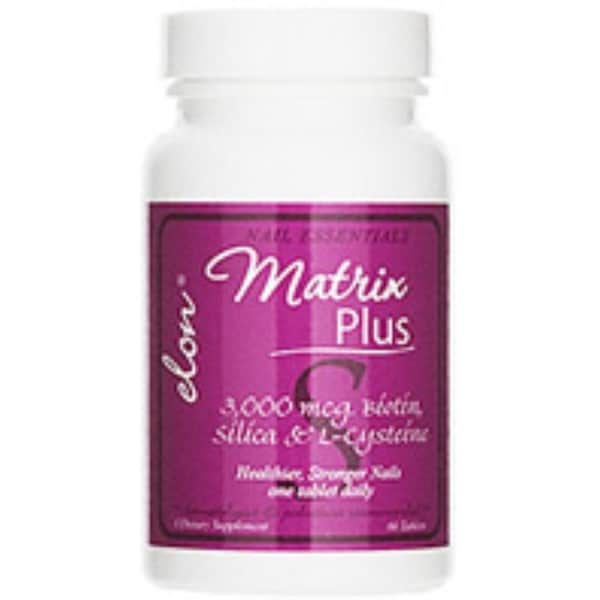Elon Matrix Plus Biotin Supplement for Nails 60 ea
