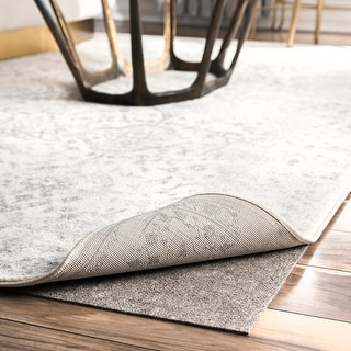 Link to Porch & Den Caheunga Grey Eco-friendly Non-slip Thick Felt Rug Pad Similar Items in Rugs