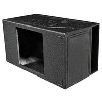 Qpower  15 in. Single Side Vented Speaker Box, Extra Large SPL -