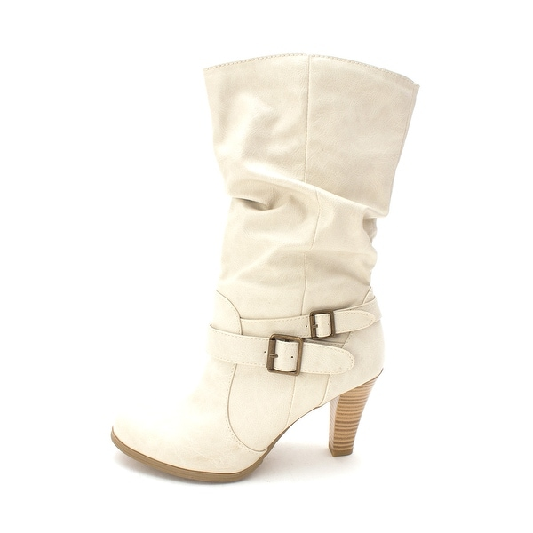 Style & Co. Womens Mickay Almond Toe Mid-Calf Fashion Boots