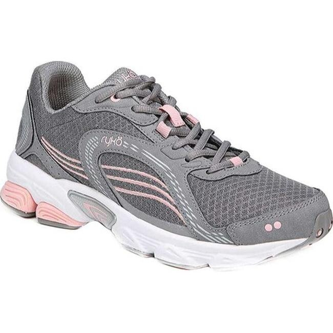 Ultimate Grey/Rose/Silver Mesh/Leather