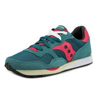 Saucony Dxn Trainer Women  Round Toe Canvas Green Sneakers