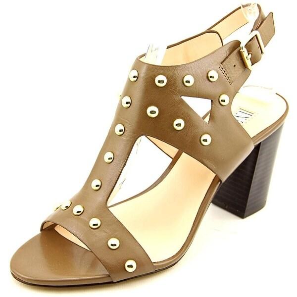 INC International Concepts Kieraa 2 Women  Open Toe Leather Brown Sandals