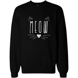 Meow Cute Kitty face Women's Sweatshirt Crewneck Pullover Fleece Cat Lovers|https://ak1.ostkcdn.com/images/products/is/images/direct/0f4d8e7eece7fb0d3d047ee3f56a7800380298a7/Meow-Cute-Kitty-face-Women%27s-Sweatshirt-Crewneck-Pullover-Fleece-Cat-Lovers.jpg?impolicy=medium