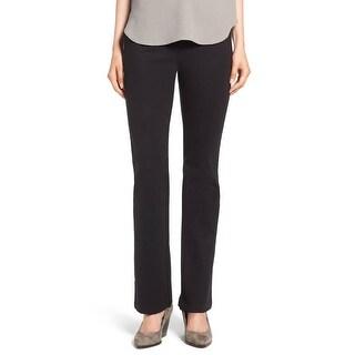 Eileen Fisher NEW Black Womens Size Medium M Slim Heavyweight Pants