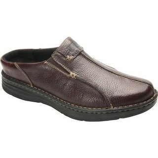 Drew Men's Jackson Mule Brown Leather