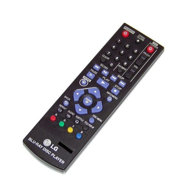 OEM LG Remote Control Originally Shipped With: BP125, BP200, BP220, BP220N, BP320, BP320N, BP325W