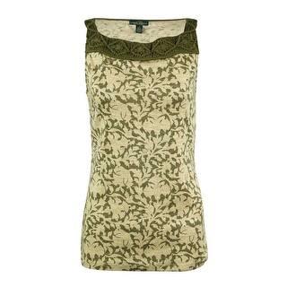 LRL Lauren Jeans Co. Women's Macrame Printed Cotton Tank Top|https://ak1.ostkcdn.com/images/products/is/images/direct/0f51e0616a1255c1c80071b0297749d201e59dcc/LRL-Lauren-Jeans-Co.-Women%27s-Macrame-Printed-Cotton-Tank-Top.jpg?impolicy=medium