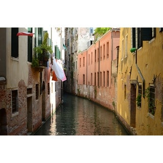 Buildings And Water Photograph Art Print