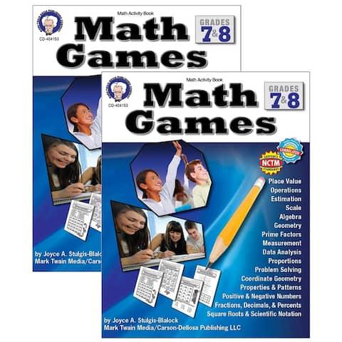 (2 Ea) Math Games Gr 7-8