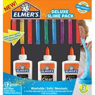 - Elmer's Deluxe Slime Pack