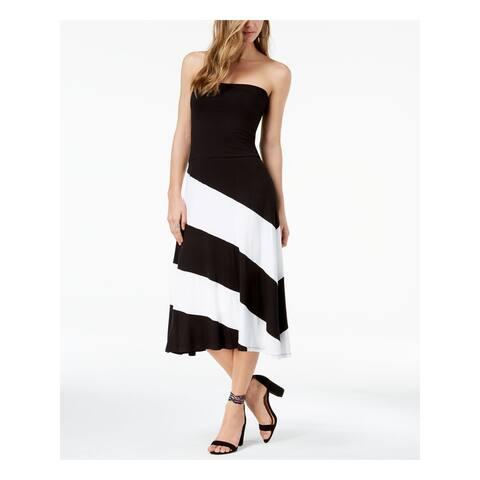 INC Black Maxi Skirt Size XS