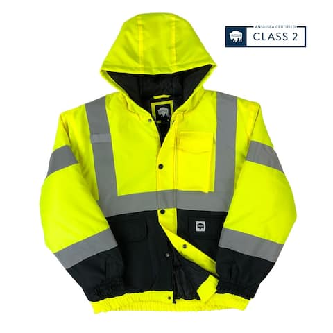 Buffalo Outdoors® Class 2 Hi Vis Winter Bomber Jacket