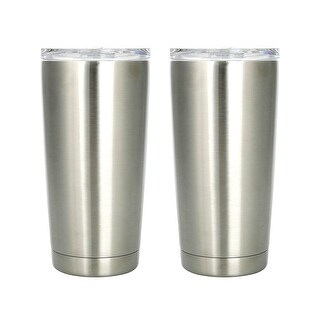 Member's Mark Stainless Steel Vacuum Insulated Tumblers 2 Pack 20 Oz 30 Oz