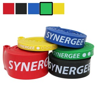 Synergee Power Band Resistance Loop Exercise Bands (Option: Green)