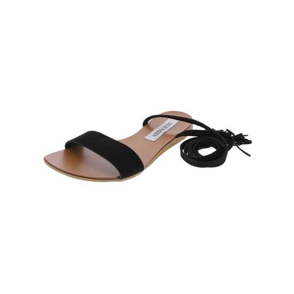Steve Madden Womens Kapri Flat Sandals Open Toe Casual