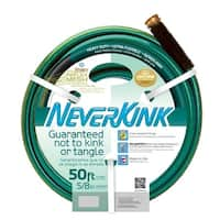 "Teknor Apex 8605-050 NeverKink Heavy Duty Ultra Flexible Garden Hose, 5/8"" x 50'"
