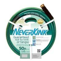 """Teknor Apex 8605-050 NeverKink Heavy Duty Ultra Flexible Garden Hose, 5/8"""" x 50'"""