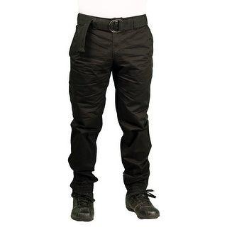 PJ Mark BIG & TALL Men's Twill Zip-Ankle Jogger Pant