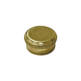 Jones Stephens Brass Hose Cap
