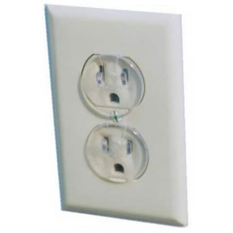 Safety 1St 1711 Ultra Clear Outlet Safety Caps, 12-Pack