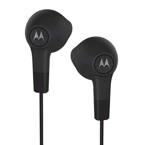 Motorola Earbuds SJYN1305A (Black) - black